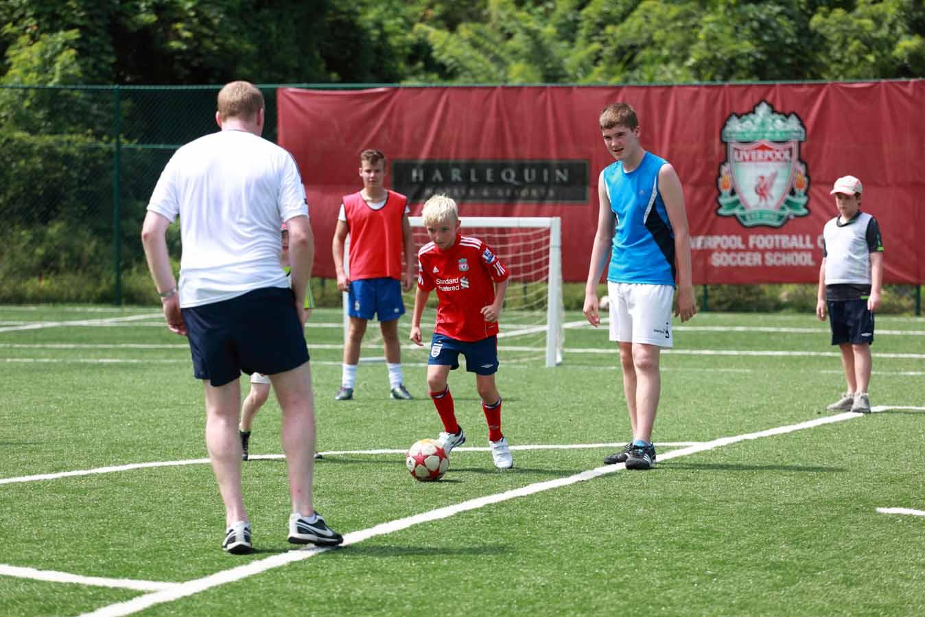 Bucc Bay's Liverpool FC Soccer School: Legends & Top