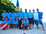 The 100% Vincentian Indigo Dive team led by Kay Wilson