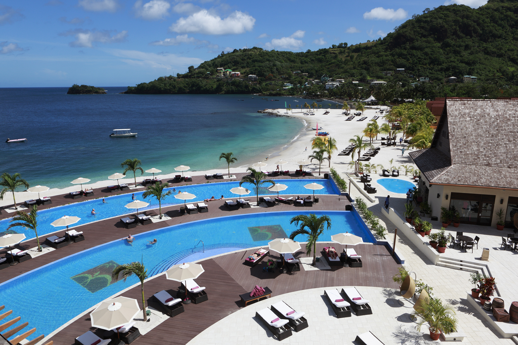 Caribbean 5 star experience buccament bay resort in st vincent the grenadines