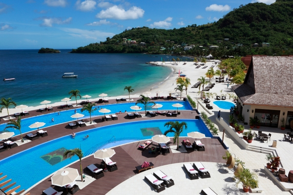 Buccament Bay Resort in St Vincent & The Grenadines