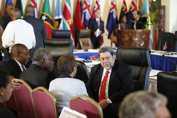 Caricom conference - PM Gonsalves