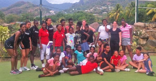 Buccament Bay Secondary School visit the Resort